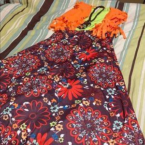Women's Hippie Chick Costume. EUC!